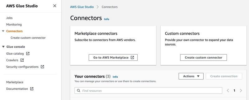Amazon(AWS)  Snowflake Integration - New Custom Connector