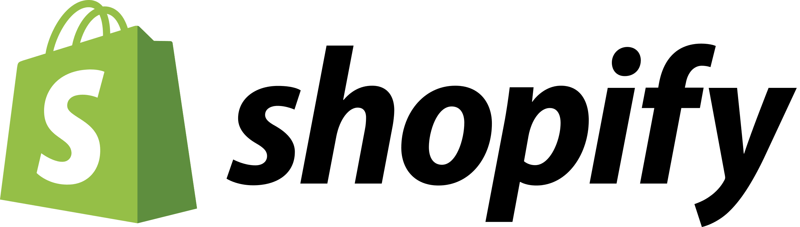 create a Shopify store: Shopify Logo