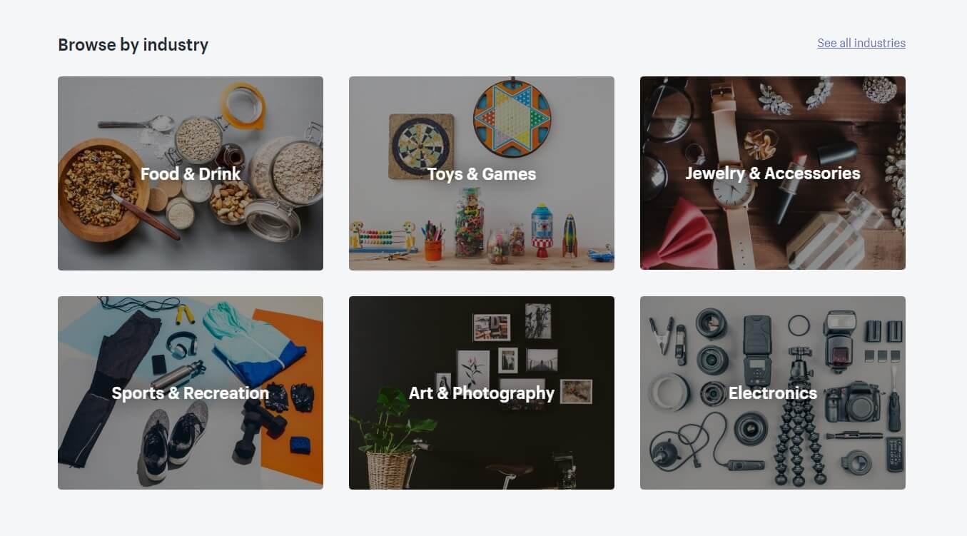 create a Shopify store: Shopify theme