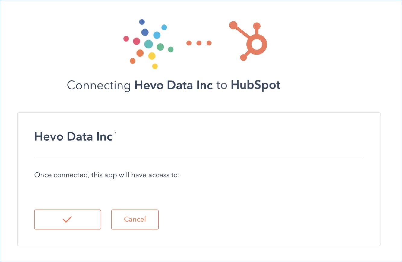 Authorize Hevo Data Inc