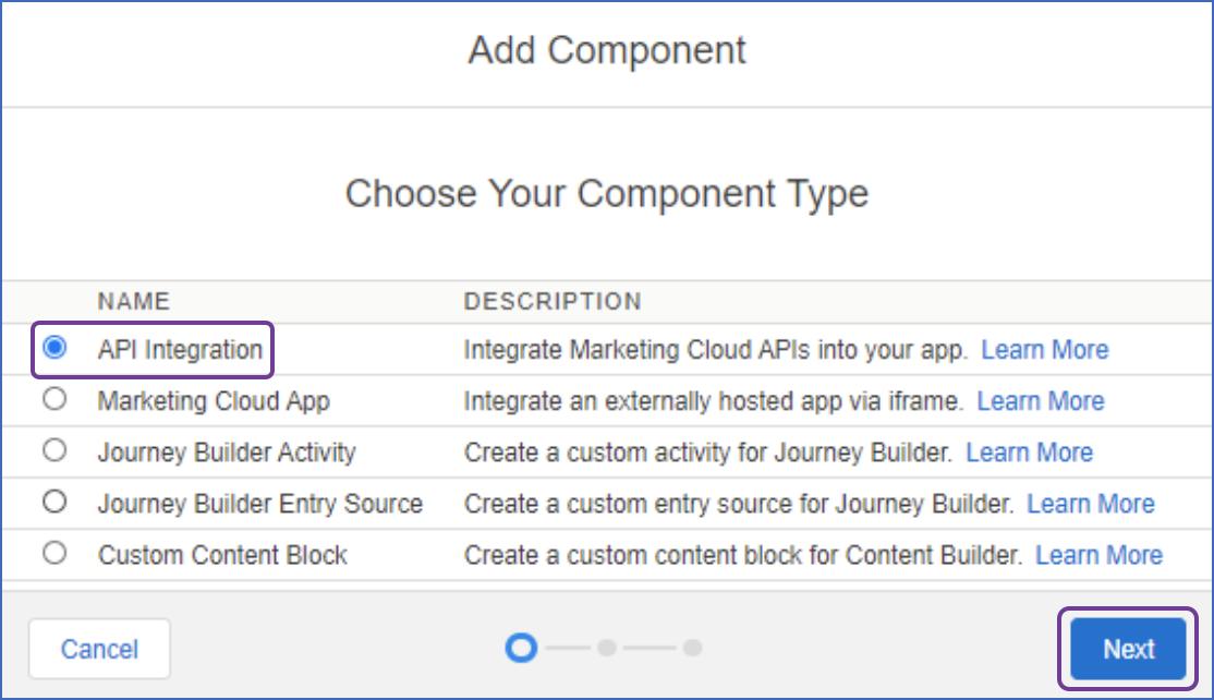 Select API integration