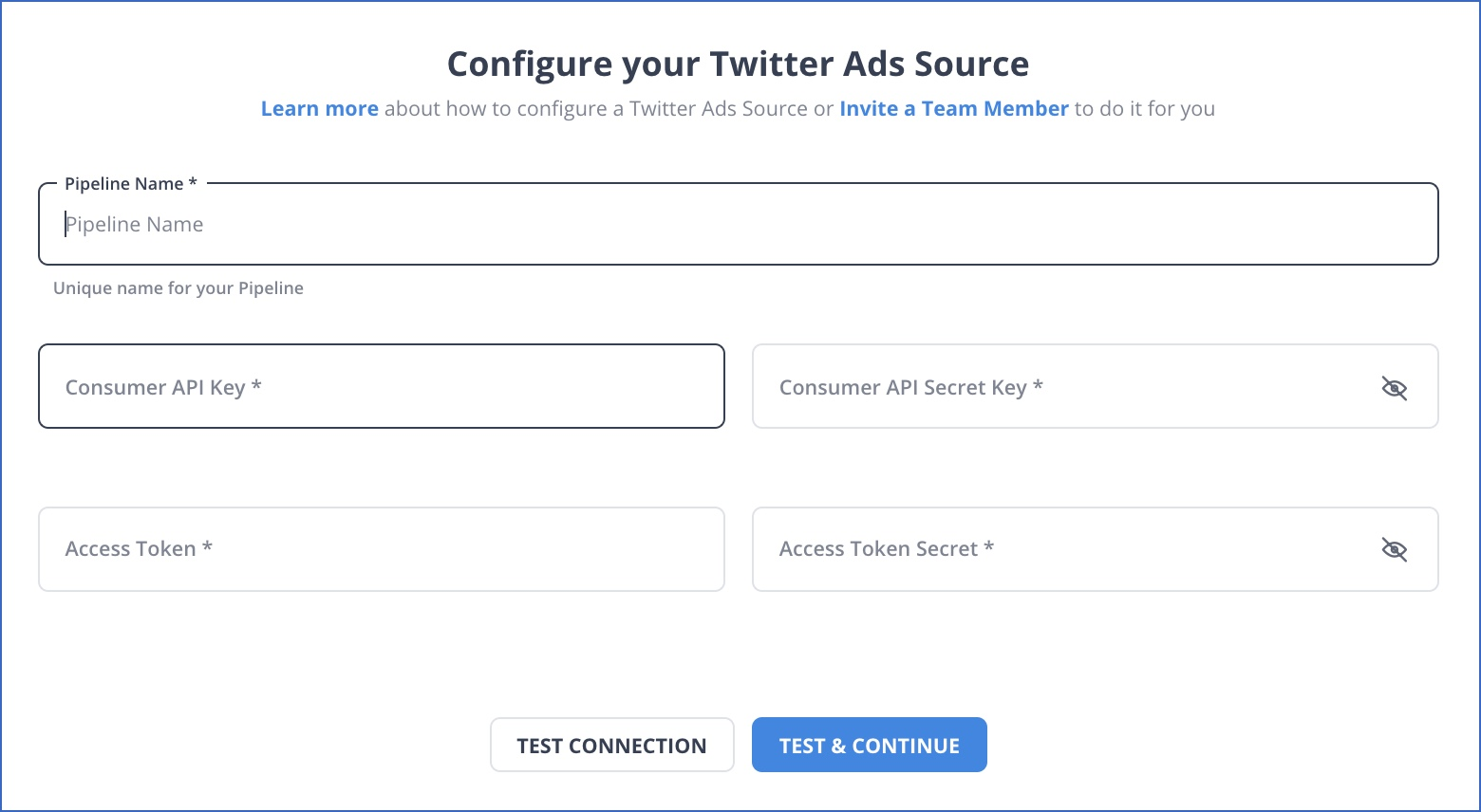 Twitter Ads Settings