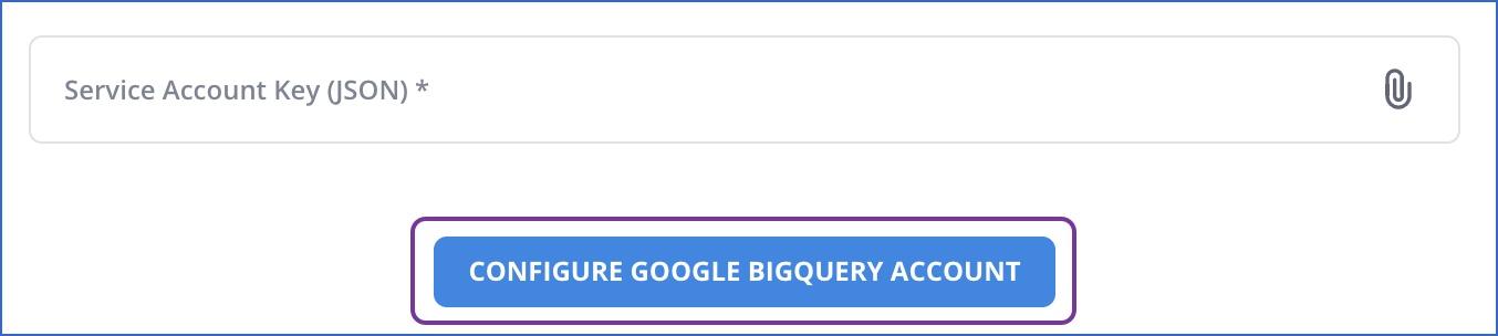 Configure Google service account