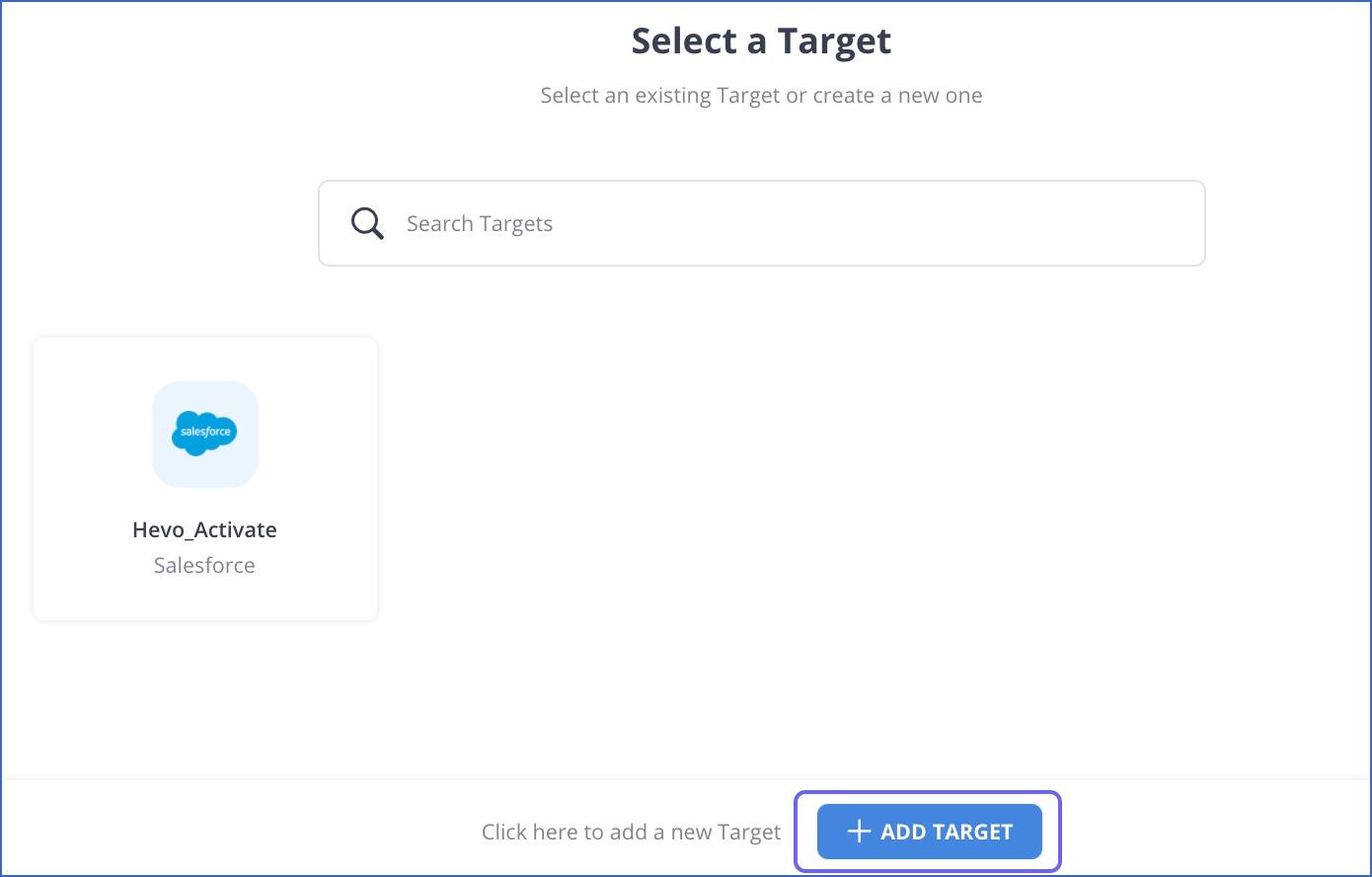 Select Target