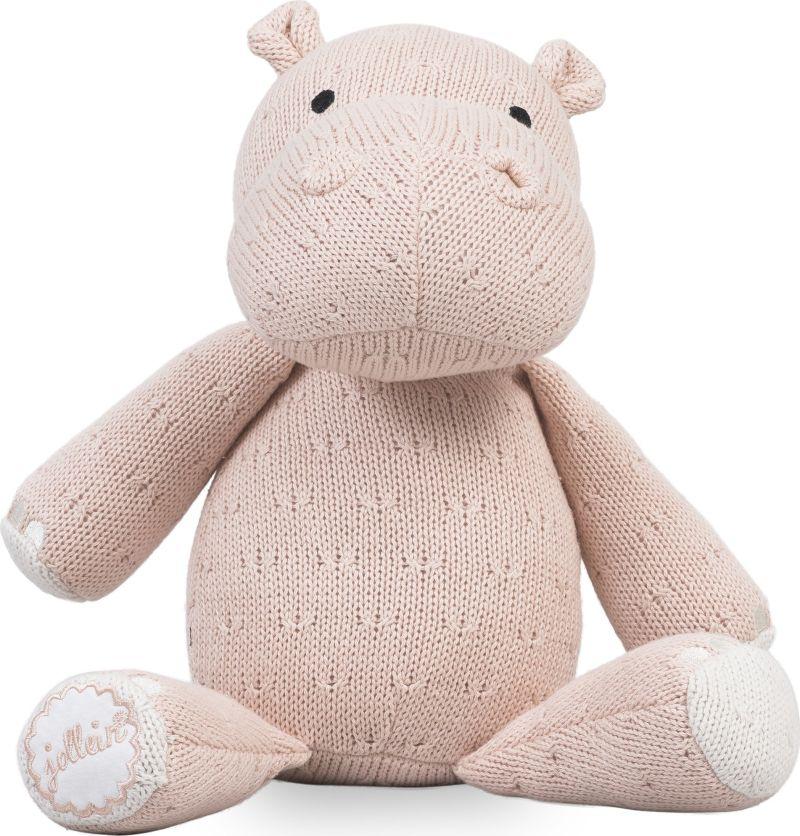 Knuffel Hippo Peach