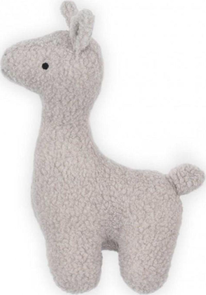 Knuffel XL Lama Grey