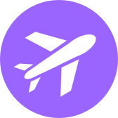 Travel category icon