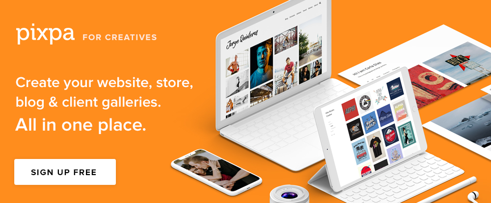 Pixpa- Portfolio Websites