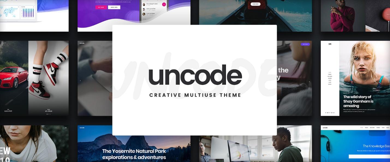 Uncode – Creative multiuse WordPress theme