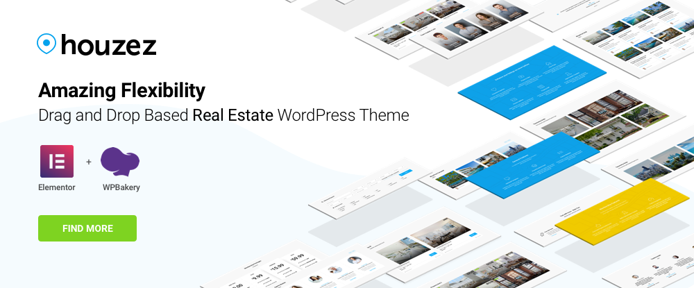 Houzez – Highly Customizable Real Estate WordPress Theme