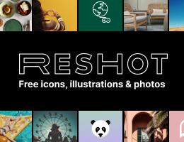 Reshot: Free icons, illustrations & photos