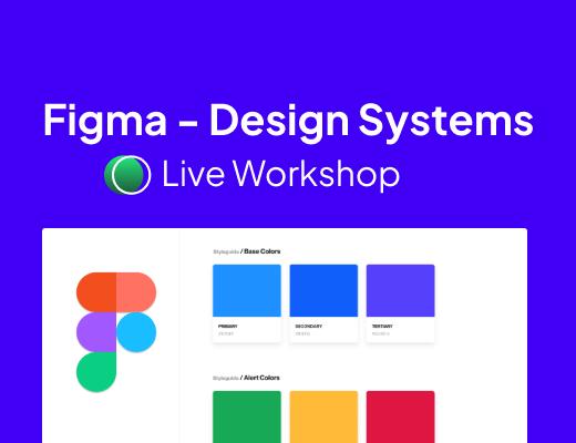 Building token based Design Systems in Figma: Live Workshop