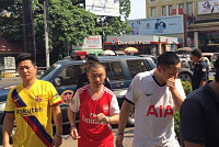 Three Chinese men sent to court for...