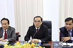 Minister Veng Sakhorn has granted Ms....