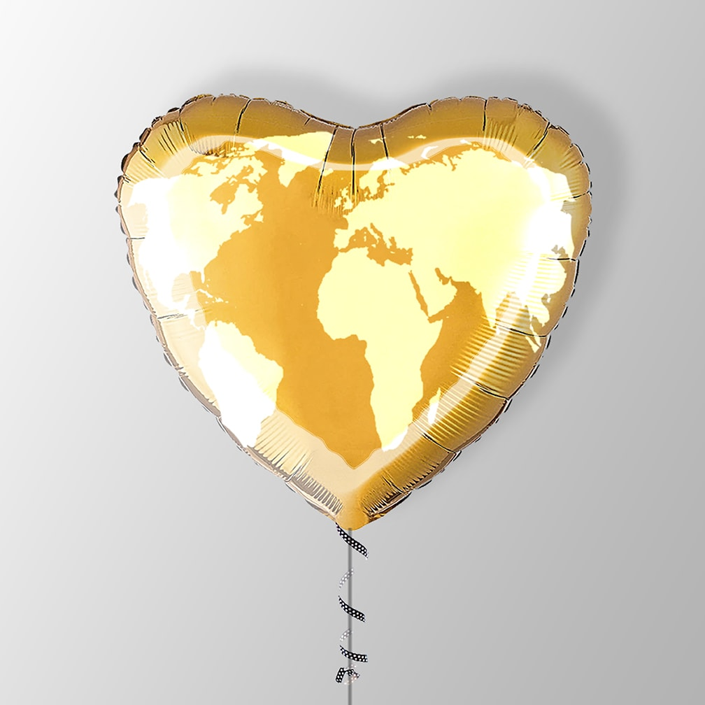 Difference Maker Heart Balloon