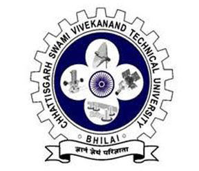 Chhattisgarh Swami Vivekananda Technical University Admission 2019