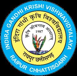 Indira Gandhi Krishi Vishwavidyalaya for Agricultural Program