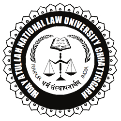 Hidayatullah National Law University Admission for LL.B BA B.Com 2019