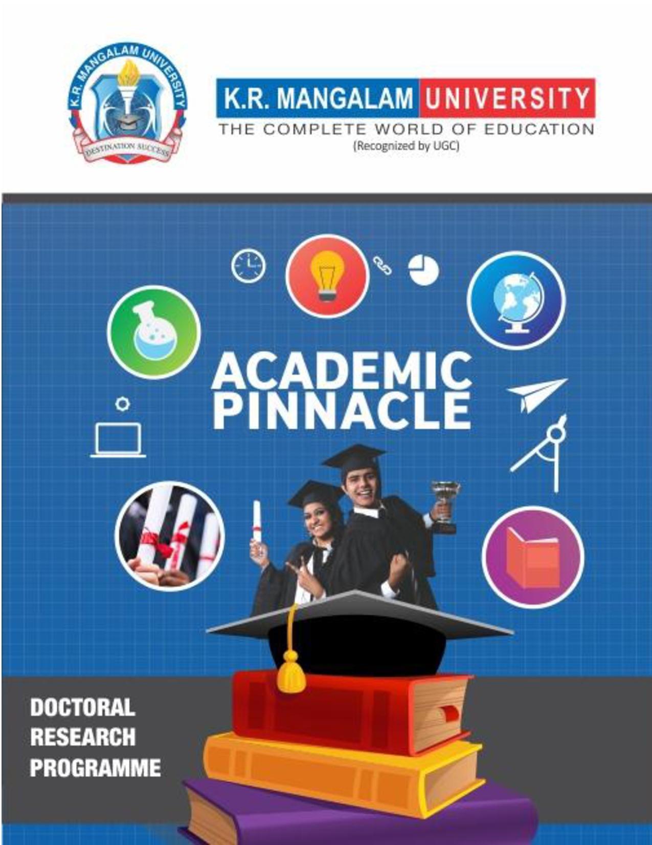K.R. Mangalam University Admission Courses BA MA BBA B.Com M.Com Pharmacy