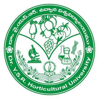 Dr. Y.S.R. Horticultural University Courses Distance Venkataramannagudem