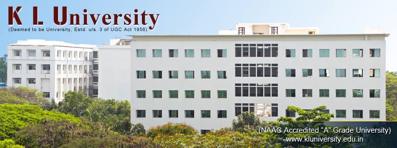 Koneru Lakshmaiah Education Foundation University Admisson Results Admit card Andhra Pradesh