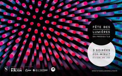 La fête des lumières à Lyon - édition 2016
