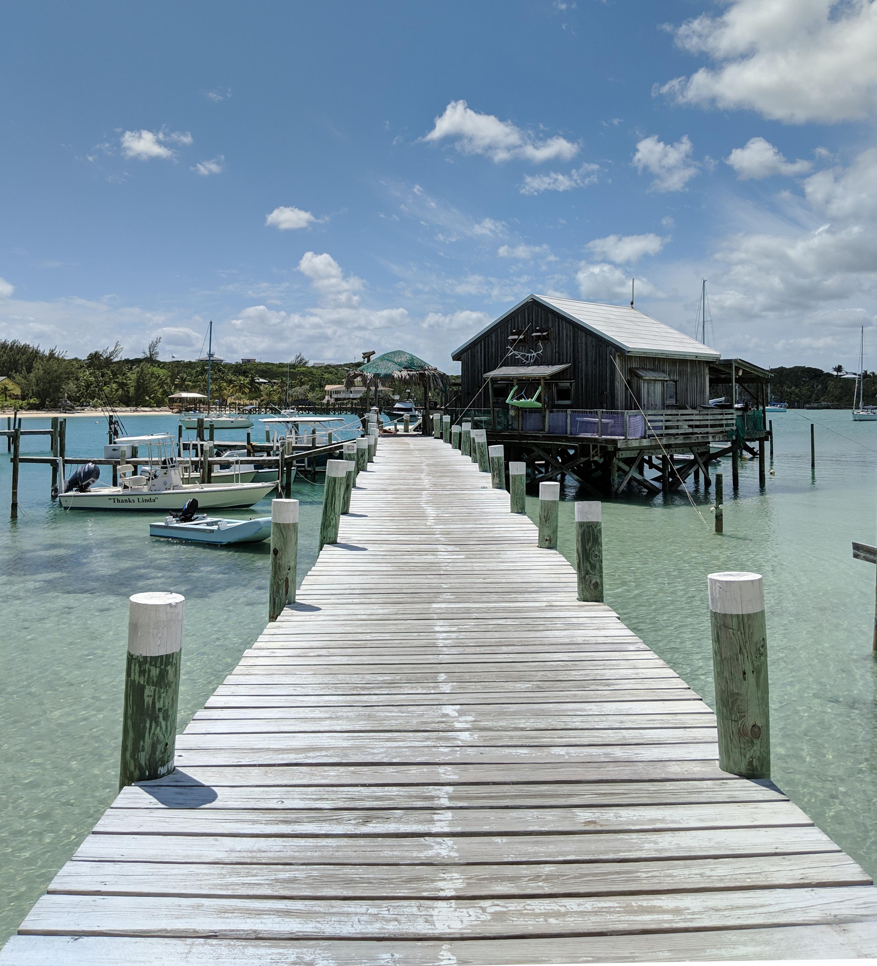 A tropical pier