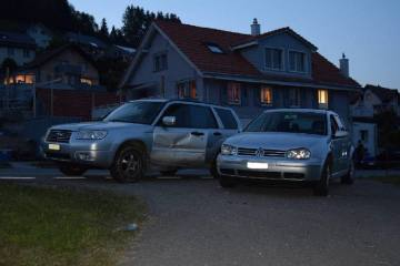 Waldstatt / Niederteufen AR - Zwei Verkehrsunfälle am frühen Freitagabend