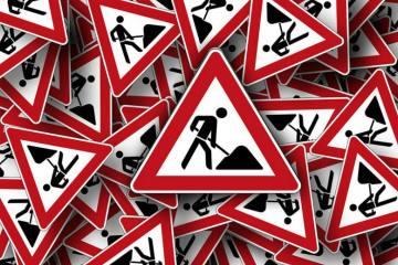 Hergiswil - Seestrasse vom Bootshafen bis Glasi gesperrt