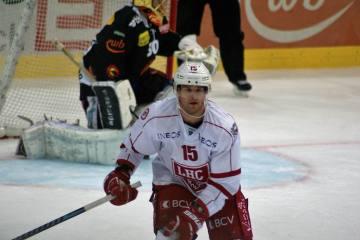 Lausanne HC - Danielsson vor Absprung, was macht Dustin Jeffrey?