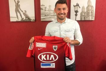 Gianluca Frontino heuert für zwei Jahre in Aarau an