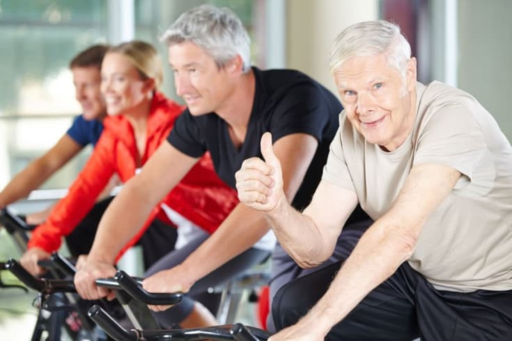 Kuntopyöräily on erittäin tehokas treeni, jolla saa nopeasti tuloksia.