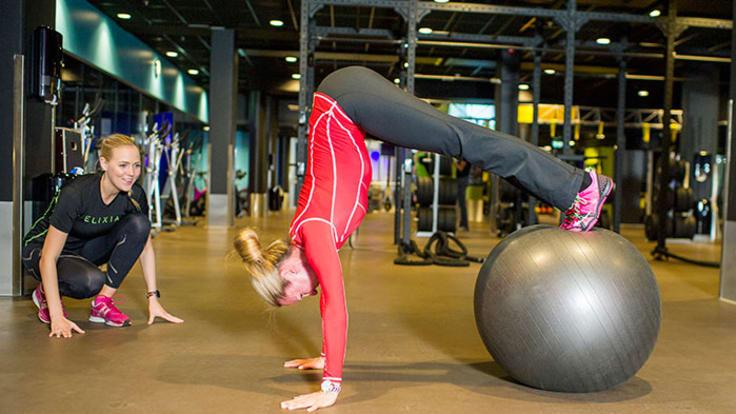 Personal Trainerin avulla pääset tavoitteisiin nopeasti ja tehokkaasti.