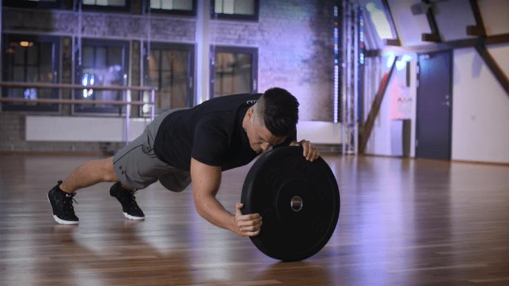 Plankeøvelse, styrketrening