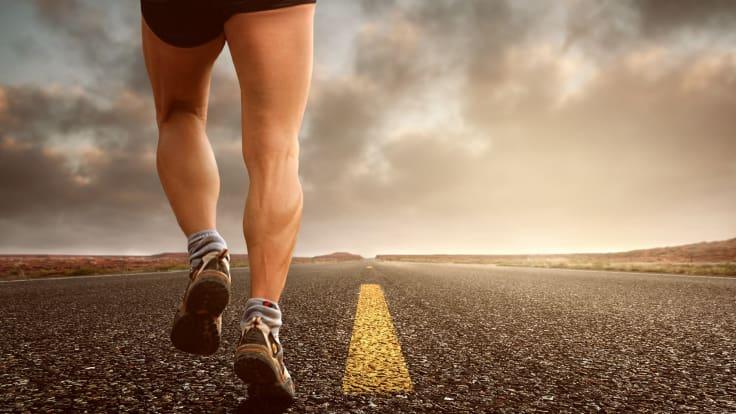 Løping ute. Spesifikk trening før løp