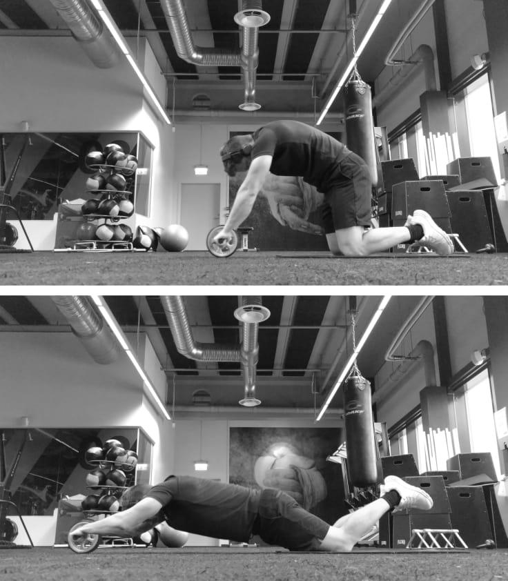 Ab-roller, styrketrening