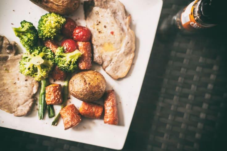 Mat du bør spise før løp