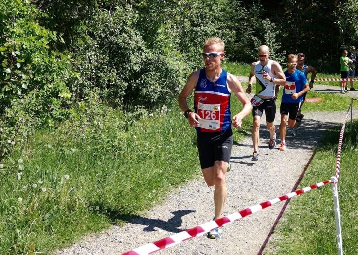 Runar Sæther, forberedelser til løp
