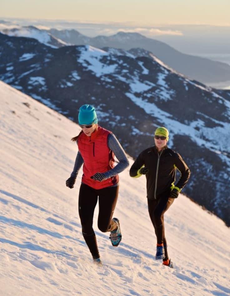 Løpe på snø