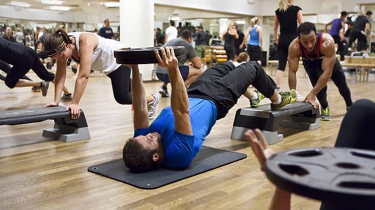 Styrketrening, gruppetrening. Effektiv trening
