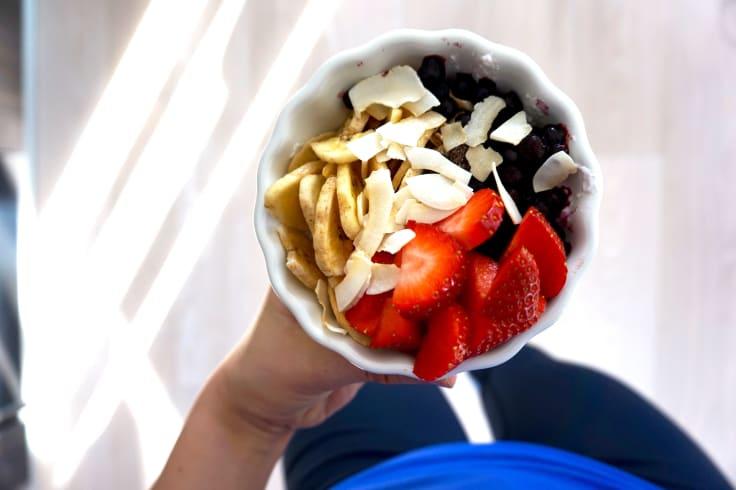 Handla något hälsosamt och gott att äta