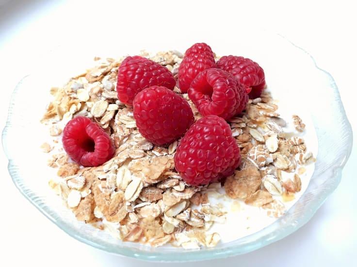Fil/yoghurt med musli/flingor