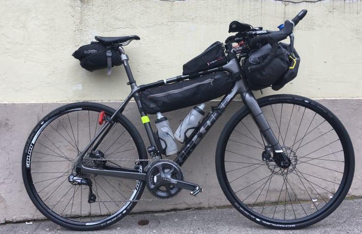 Packning inför Trans Am Bike Race (TABR).