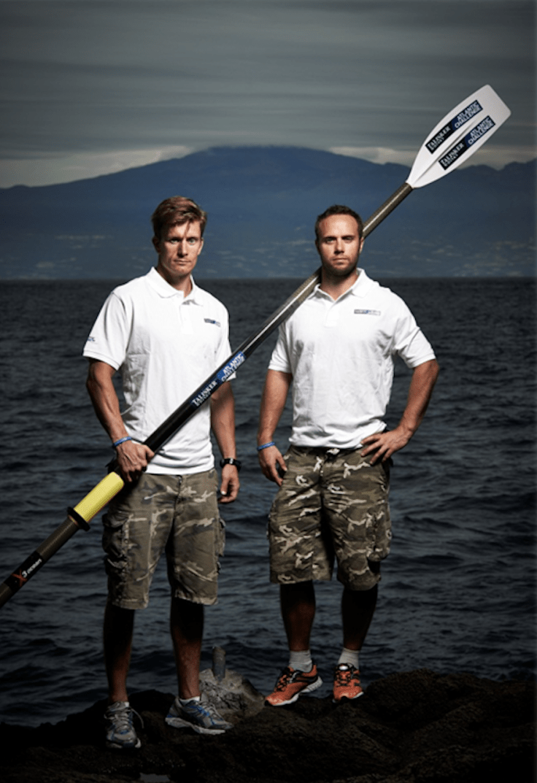 Stefan Erlandsson och Erik Grafström