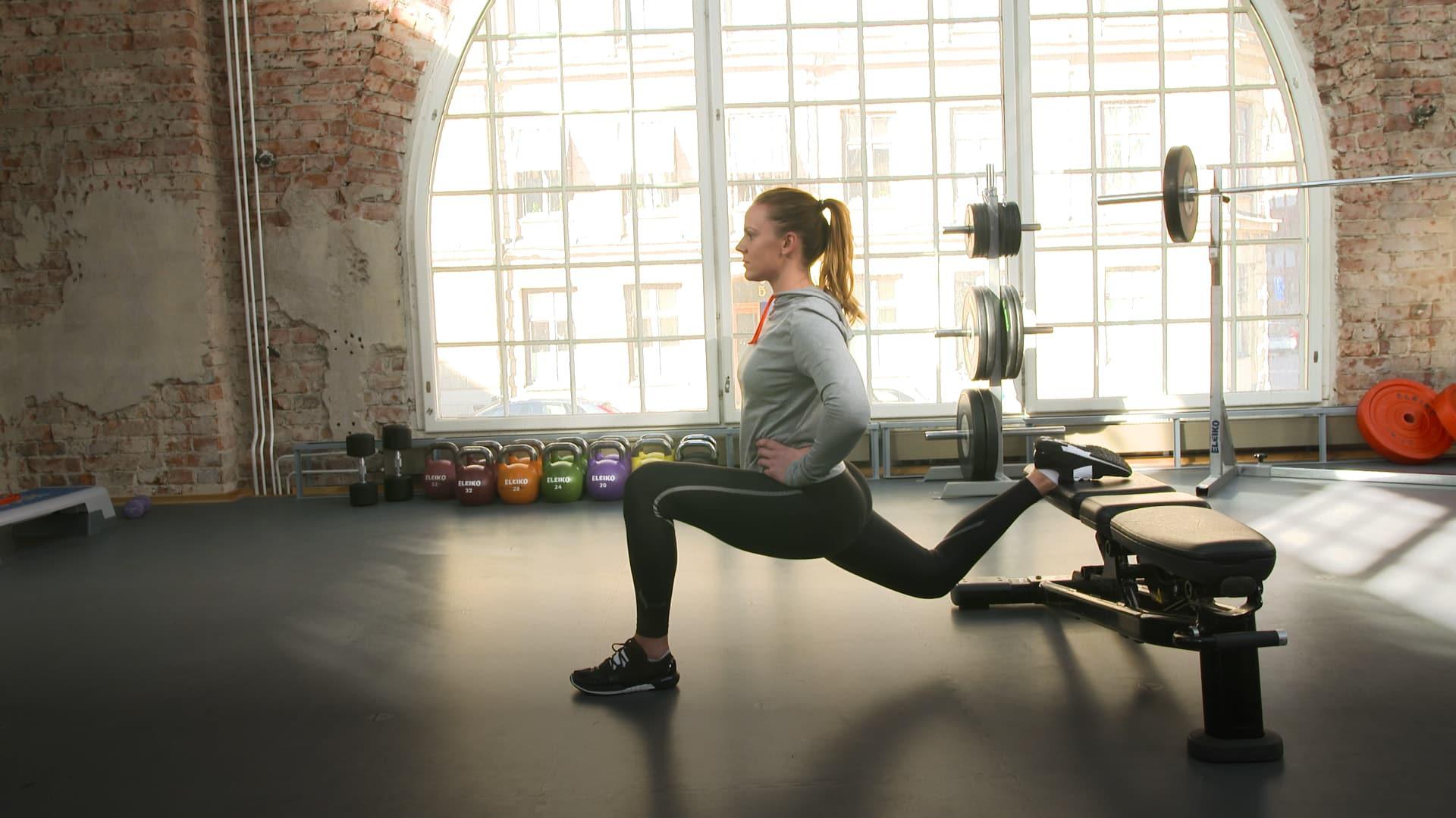 Harjoitusohjelma jaloille