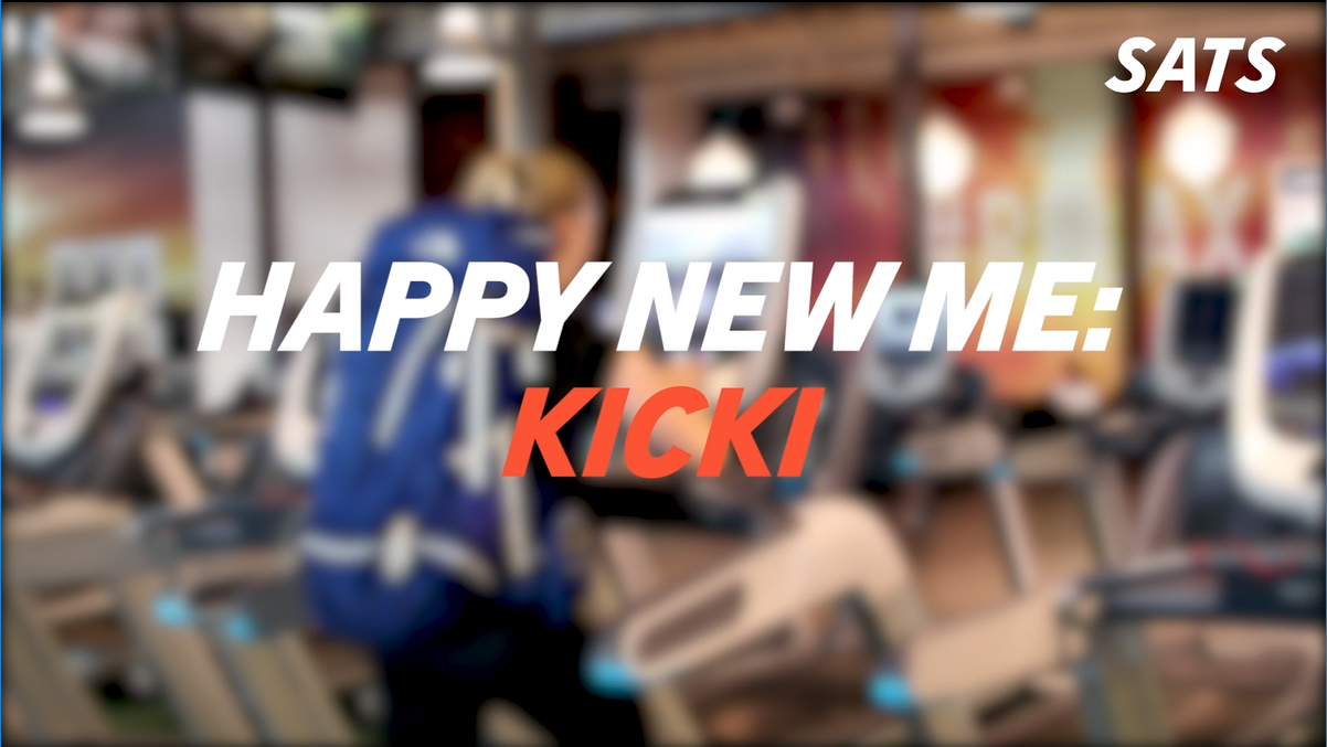 Happy New Me: Kicki