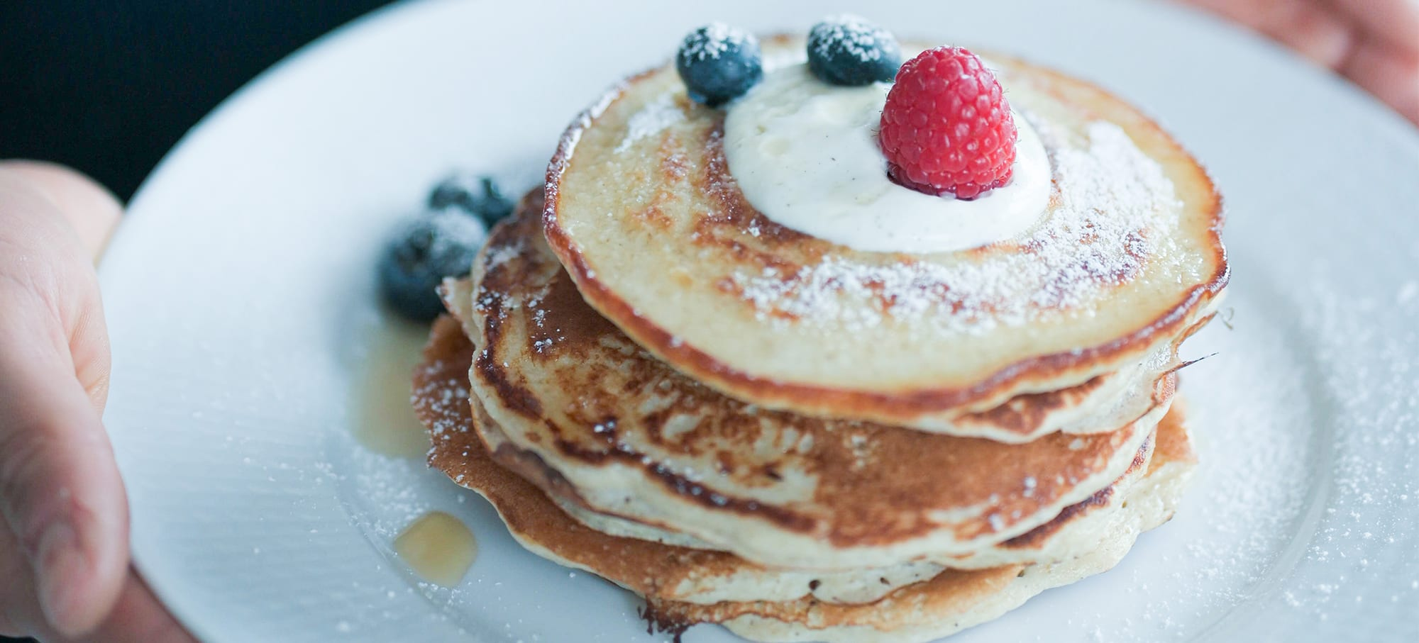 Vanilje protein pandekager