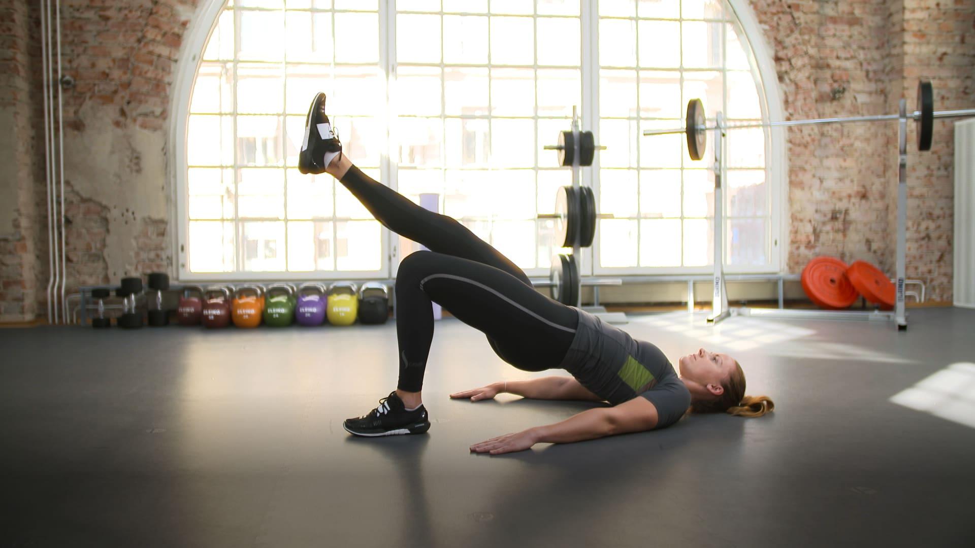 Træningsprogram: Bagdel uden vægte