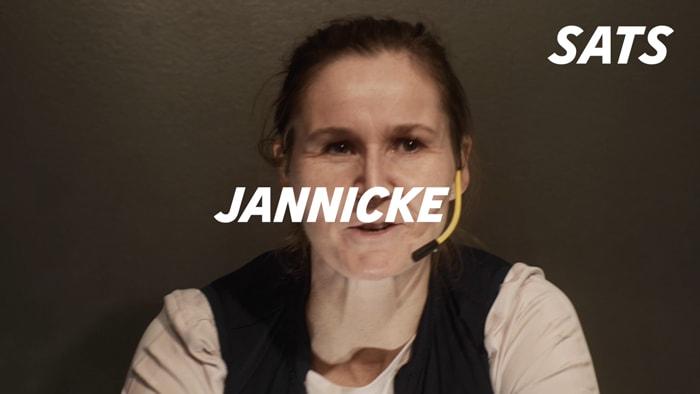 Fikk hjerneslag - Jannicke valgte å være positiv