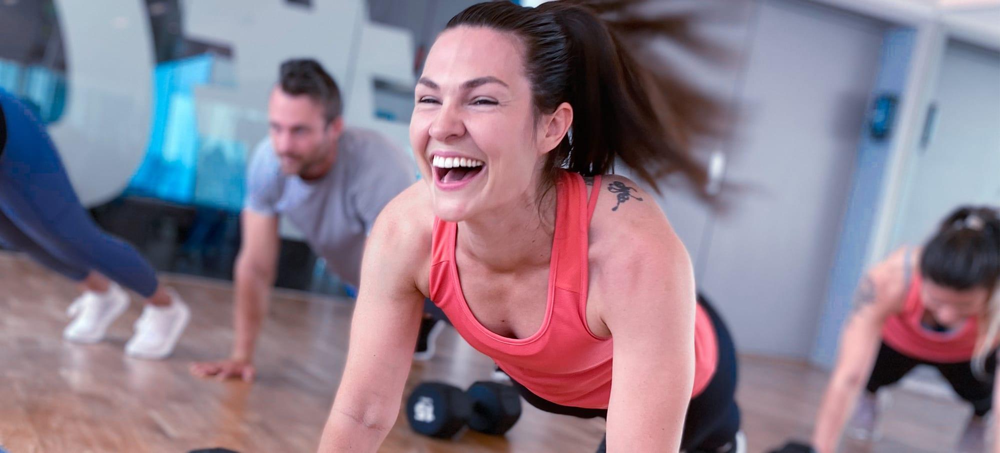 Vanskelig å finne noen som ikke har glede av trening